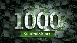1 000 suurituloisinta