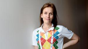 Voimisteluliiton pääsihteeri Maria Laakso henkilökuvassa