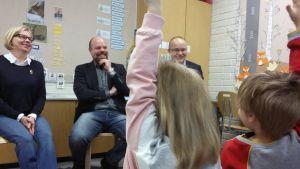 Riitta Keloneva, Sampo Kangastalo ja Timo Nousiainen
