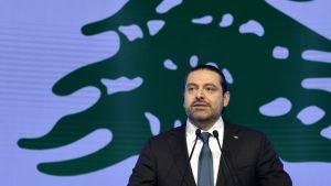 Libanon pääministeri Saad al-Hariri