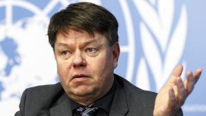 Maailman ilmatieteen järjestön pääsihteeri Petteri Taalas.