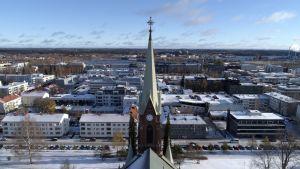 Mikkelin tuomiokko on Mikkelin näyttävimpiä maamerkkejä.