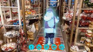 Virtuaali joulupukki Stockmannilla