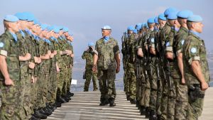 Suomalaisia UNIFIL-joukkoja