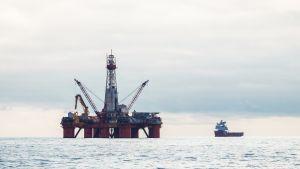 Norja barentsin meri öljynporauslautta.