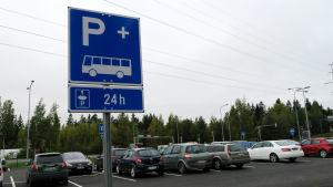 Liityntäparkki on Tampereella on aikaisemmin avattu mm. Niihaman risteykseen.