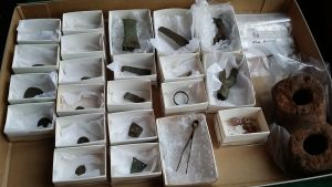 arkeologisia löytöjä