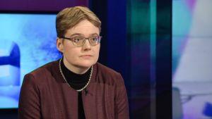 Minna Kimpimäki,  rikosoikeuden professori.