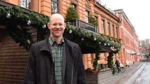 Kulttuurihistorian dosentti Rauno Lahtinen.