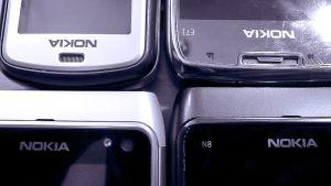 Nokia puhelimia.