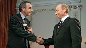 Matt Lauer ja Vladimir Putin