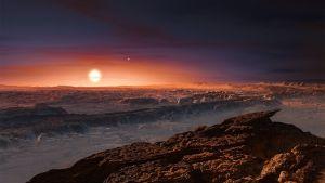 Proxima Centauria kiertävä planeetta.