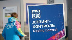 Dopingtestauspaikka Sotshin olympialaisissa.