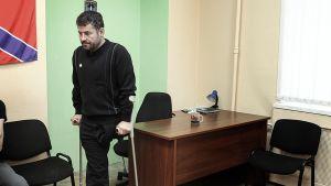 Andrei Kamaiev, joka mentti jalkansa sodassa.