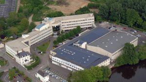 Lactalis-yhtiön päämaja Lavalissa Ranskassa maaliskuussa 2011.