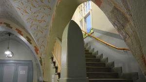 Lahden kansanopistona tunnettu rakennus.