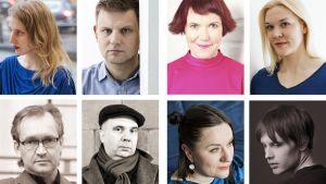 Runeberg-kirjallisuuspalkinnon 2018 ehdokkaat