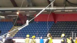 Vaasan jäähallin onnettomuustutkinta alkaa tänään maanantaina.
