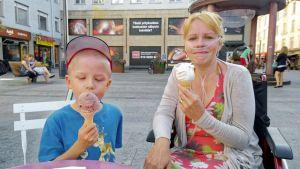 Helena ja Arttu kesällä 2014.