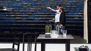 Jyväskylän kaupunginteatterin lava ja katsomo