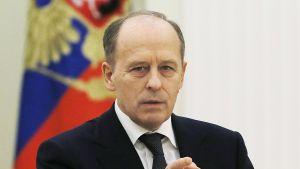 Aleksandr Bortnikov kuvattuna Kremlissä, Moskovassa 19. joulukuuta.