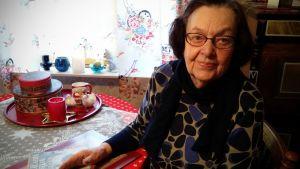Suoma Oksalampi oli 8-vuotias koululainen talvisodan syttyessä.