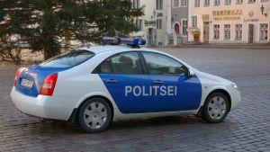 viron poliisi, poliisiauto.