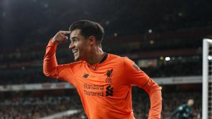 Liverpoolin Philippe Coutinho
