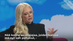 """Linda Lampenius Nygård-oikeusriidasta: """"Minä en enää pidä suutani kiinni"""""""