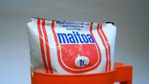 Mjölkpåse från 1960-talet