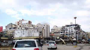 FN-observatörer i den syriska staden Homs