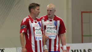 Fredrik Adamsson och Sam Sjöman