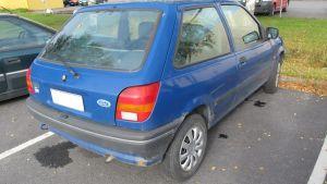 Den försvunna Tarja Ketolas bil.