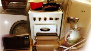 Jopa 1950-luvulla hankitut kodinkoneet toimivat edelleen.