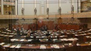 Debatt om svenskan i riksdagen