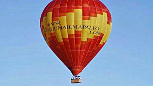 En varmluftsballong