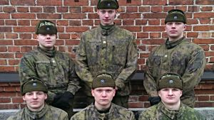Beväringar vid Nylands brigad i Dragsvik i Ekenäs