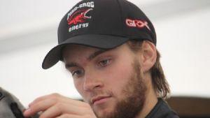 Niclas Grönholm debuterade i rallycross-FM som 19-åring