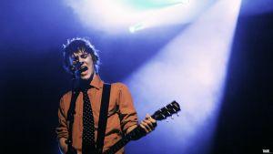 Sång och Talang, The Onetimers frontfigur Rolf Gustafsson på scen i Borgå,