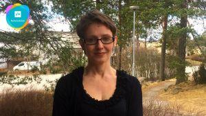 Rosa Puhakkainen-Mattila jobbar på Människorättsförbundet.