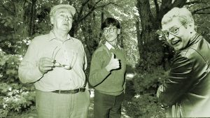 Kolme miestä mökissä