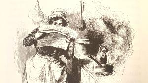 Topelius kirjoitti Suomen historiaa ranskalaisin opein ja tarjosi sen jatkokertomuksina