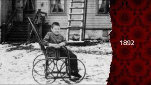 I arkivet ser vi den förändring som rullstolen fört med sig