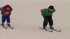 Tasapaino ja hiihto ilman sauvoja