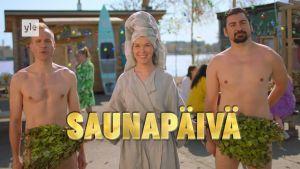 Saunapäivä tulee! Heinäkuun viimeisenä lauantaina pidetään koko Suomen saunabileet!