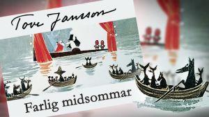 Tove Jansson läser: Farlig midsommar: Kapitel 1 - Om en barkbåt och ett eldsprutande berg