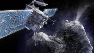 Tulivatko elämän rakennusaineet Maapallolle komeetoilta?