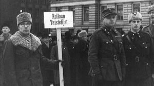 Itsenäisyyspäivä Helsingissä 1940
