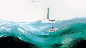 Tove Jansson läser: Pappan och havet