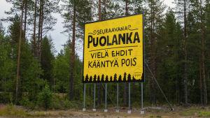 Pessimisten blir aldrig besviken, åtminstone i Puolanka